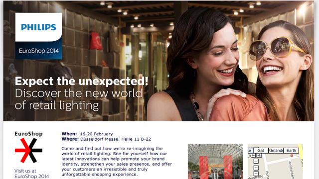 Philips Retail Lighting Euroshop